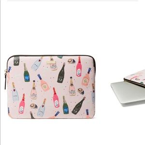 Kate Spade Champagne Laptop Computer Sleeve Case